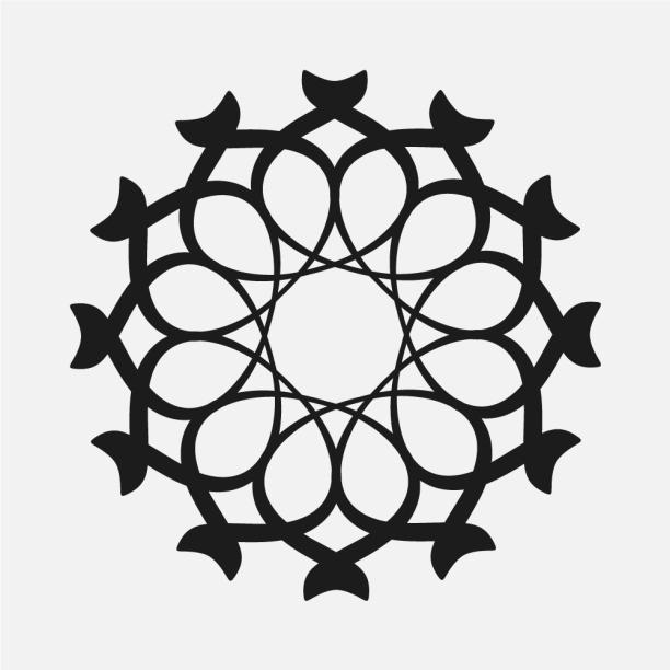 Islamic geometric patterns Arabesque tutorial خاور بلال