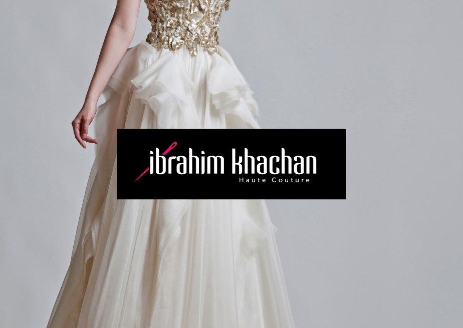 Brand identity design needle pink black Khawar Bilal